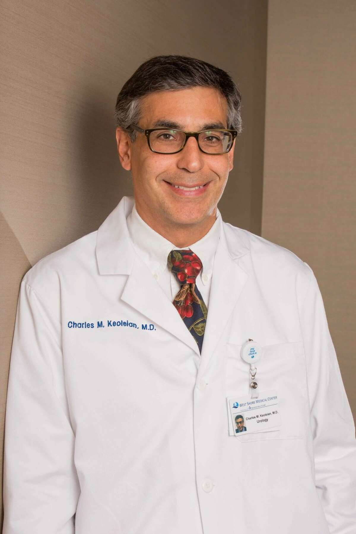 Dr. Charles Keoleian, a urologist educated at Wayne State University, recently joined the staff of West Shore Medical Center. (Courtesy photo)