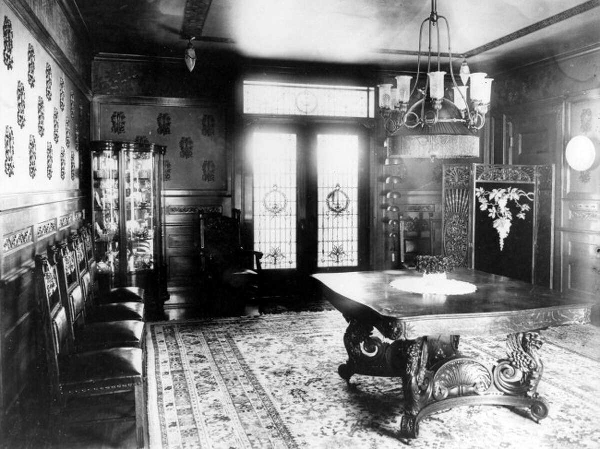 After local lumber baron Edward Buckley passed away in 1927, an inventory of his personal belongings was made which included the contents of his extravagant dining room.