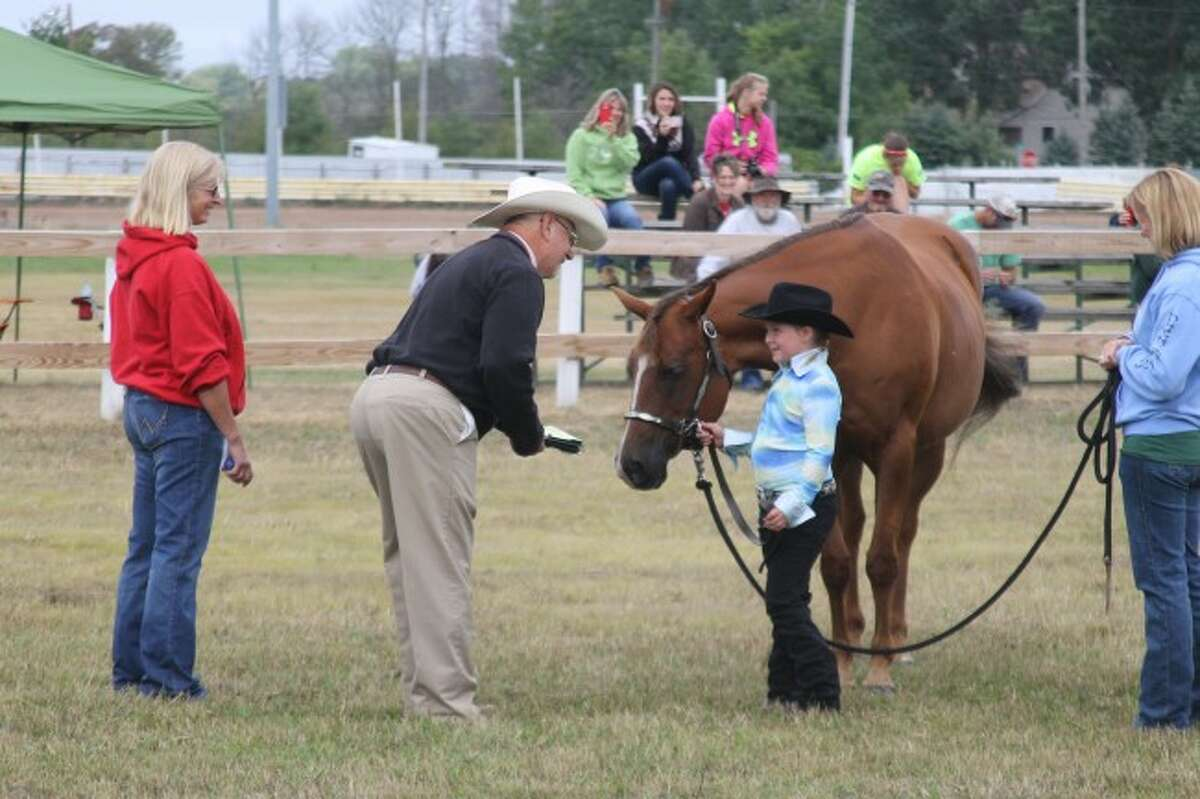 The 4-H Horse Show kicked off the 2014 Manistee County Fair on Sunday.