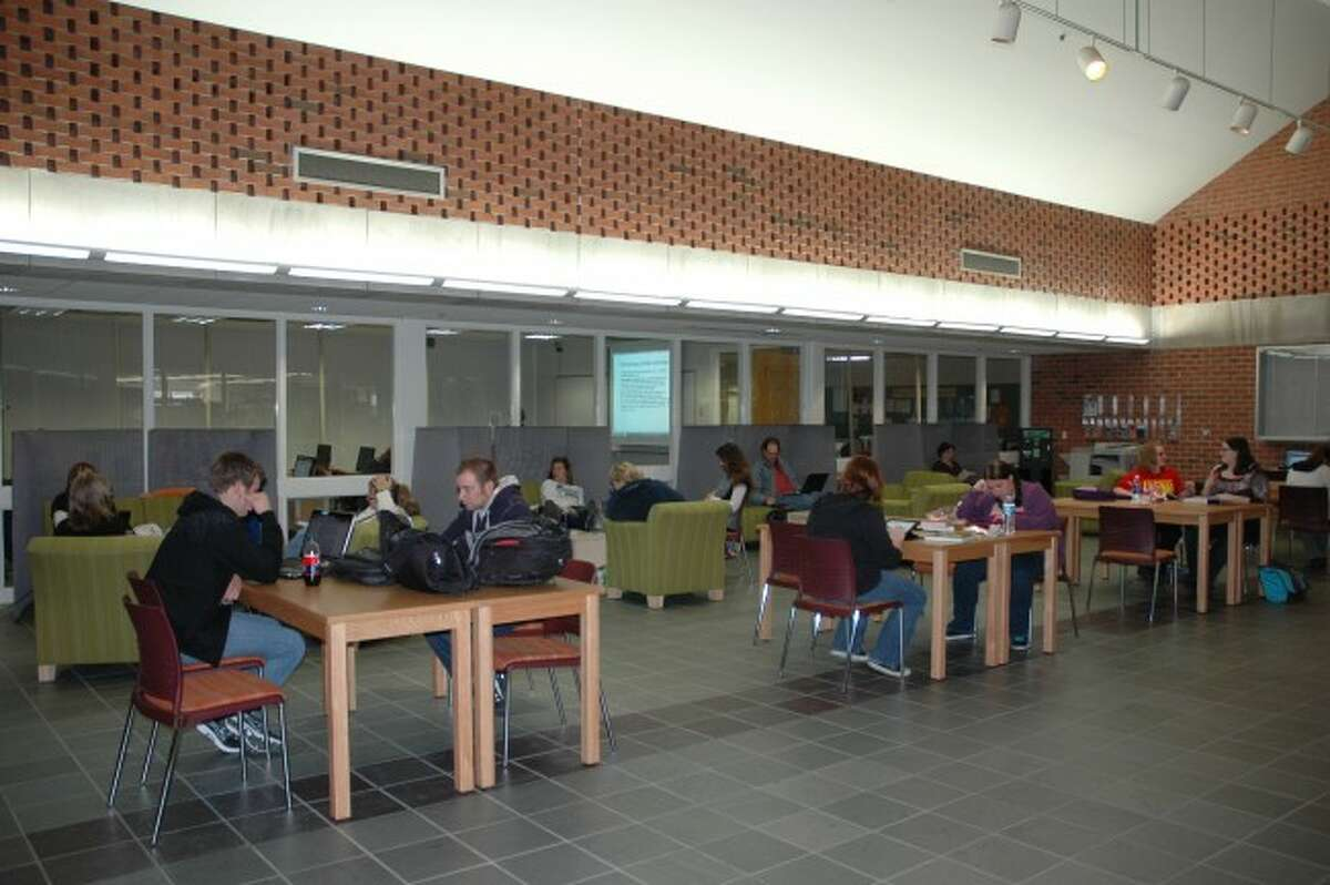 If the U.S. Senate does not act on the Perkins Loan financial aid options to many high school seniors and college students like some of those attending West Shore Community College as shown in this picture could be lost.
