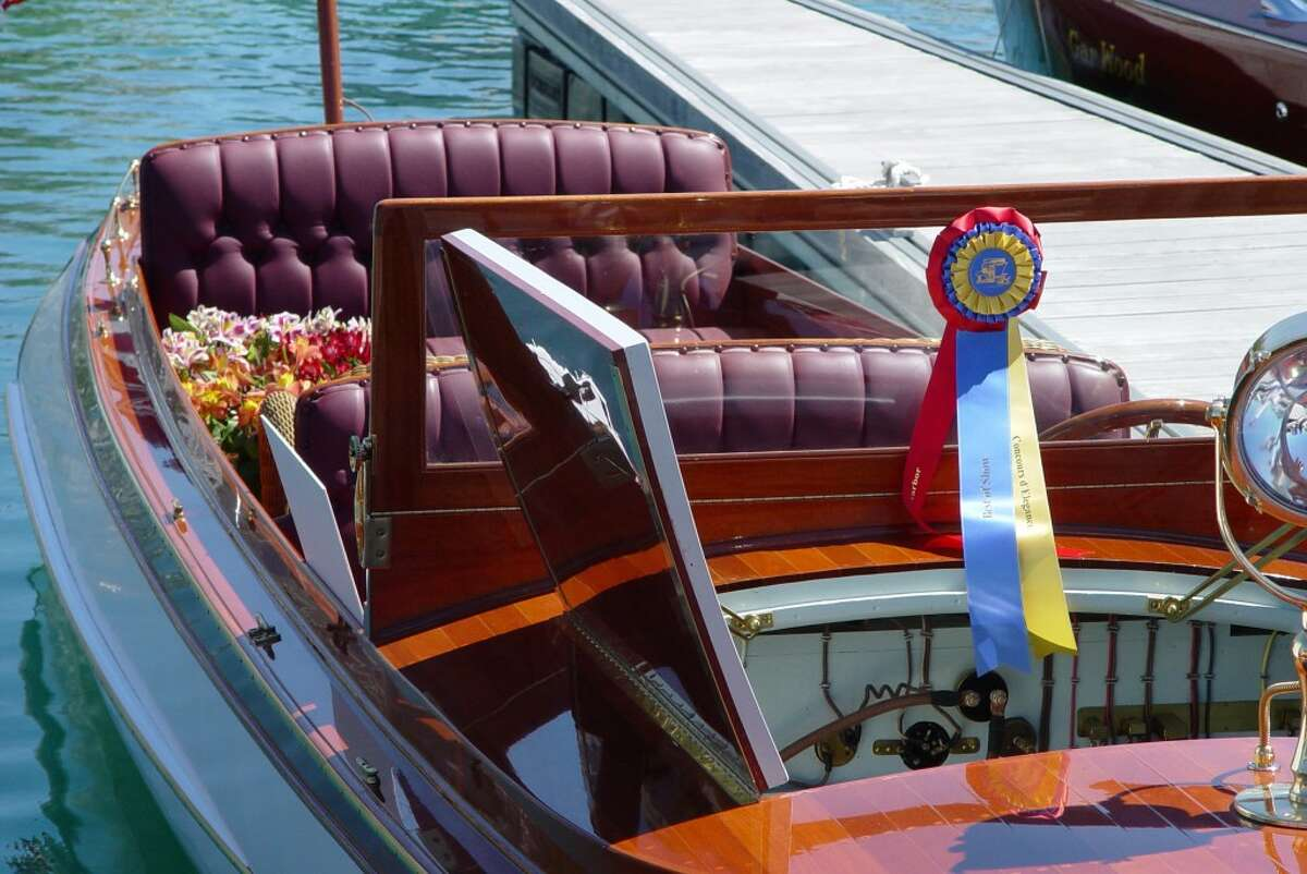 (Courtesy photos)The completion of Danenberg Boatwork's craftsmanship generally compete at quality boat shows, showcased at their finest.