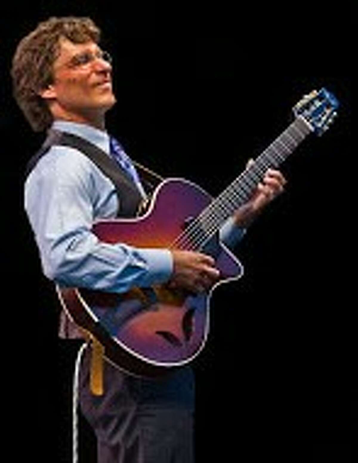 Acoustic guitarist Frank Vignola, will perform as part of West Shore Community College's Performing Arts Series at 7:30 p.m. on Nov. 21in the Center Stage Theater.