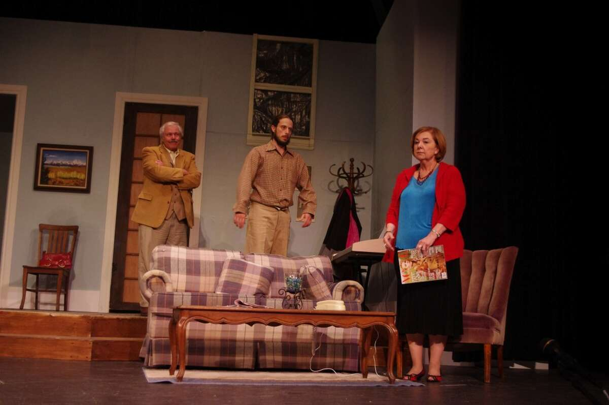 There's nothing easy about married life, and then when you add two in-laws plus a baby who is soon to arrive, it's, well, the plot of the current Manistee Civic Players production