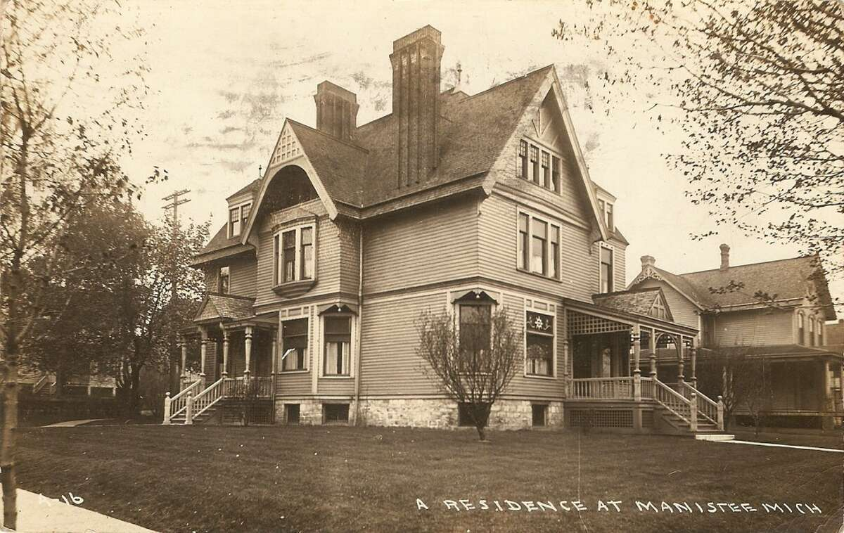 An early 1900s photo of the Mead home, which continues today to be a stately home at the corner of Maple and First streets. (Courtesy Photo/Dale Picardat)