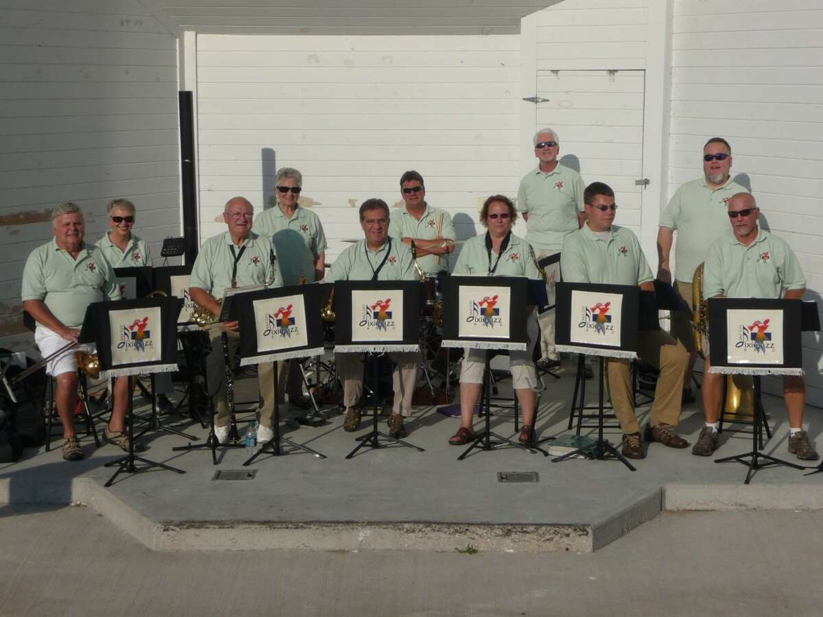 The Salt City Dixie Jazz Band will play during the 10 a.m. worship service on Sunday at the First Congregational Church in Manistee. (Courtesy Photo)