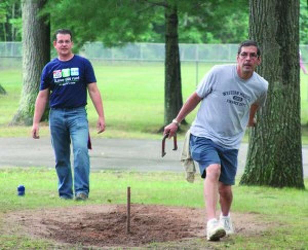 Registration for the Brethren Days horseshoe pitching contest will begin at noon on Saturday and the contest begins at 1 p.m.