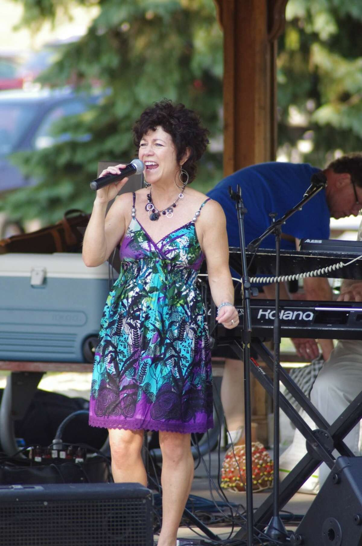 Mary Rademaker will join the Mark Kahny Band to perform the tenth and final 2013 concert of the Manistee ShoreLine ShowCase series at 7 p.m. Tuesday at the Rotary Gazebo at First Street Beach in Manistee. (News Advocate)
