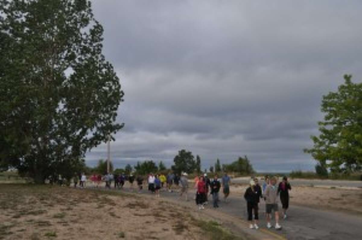Manistee's Labor Day Bridge Walk will be held at 9 a.m., starting at the First Street Beach shelter.