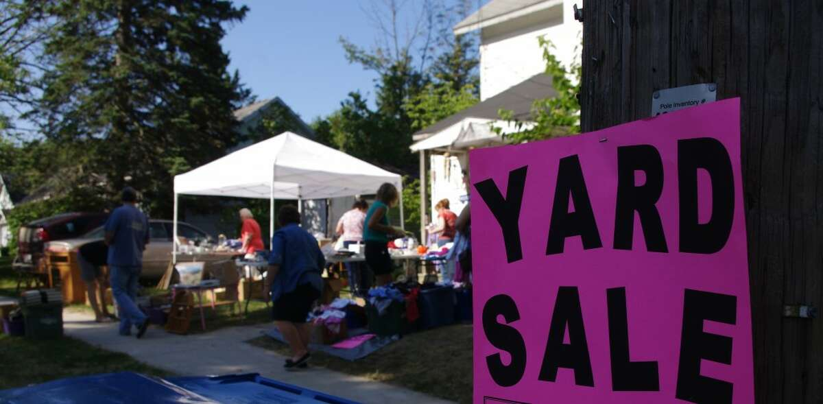 There was something for everyone at this yard sale on Lynn Street in Bear Lake. (Dave Yarnell/News Advocate)