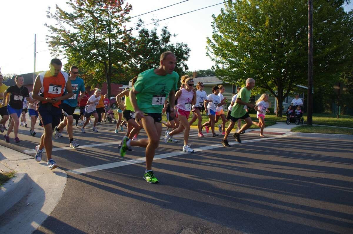 The Bravo Troop Family Readiness Group's second annual Running With Our Soldiers 5K run and one mile walk will begin at 8 a.m. on Saturday at the National Guard Armory, 555 First St. in Manistee. Registration for the race will begin at 7 a.m. and further information is available by contacting Nicole at nicoleseaborn@hotmail.com or (231) 287-7134. (News Advocate File Photo)