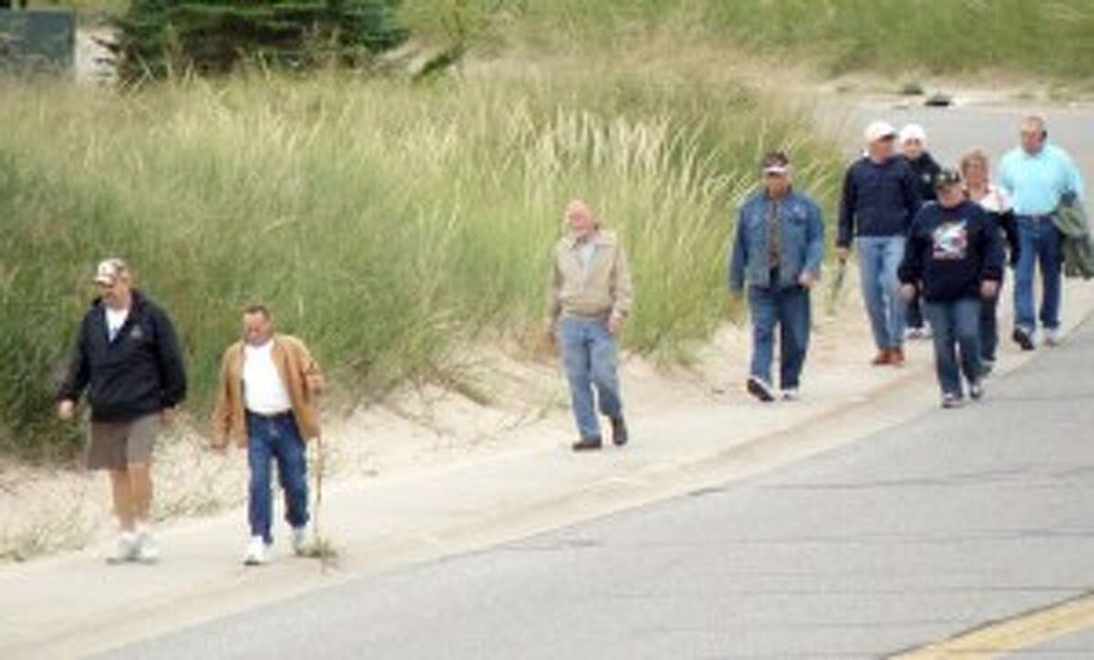 The community is invited to participate in Manistee's fourth annual Labor Day Bridge Walk, starting at 9 a.m. at the First Street Beach Shelter.