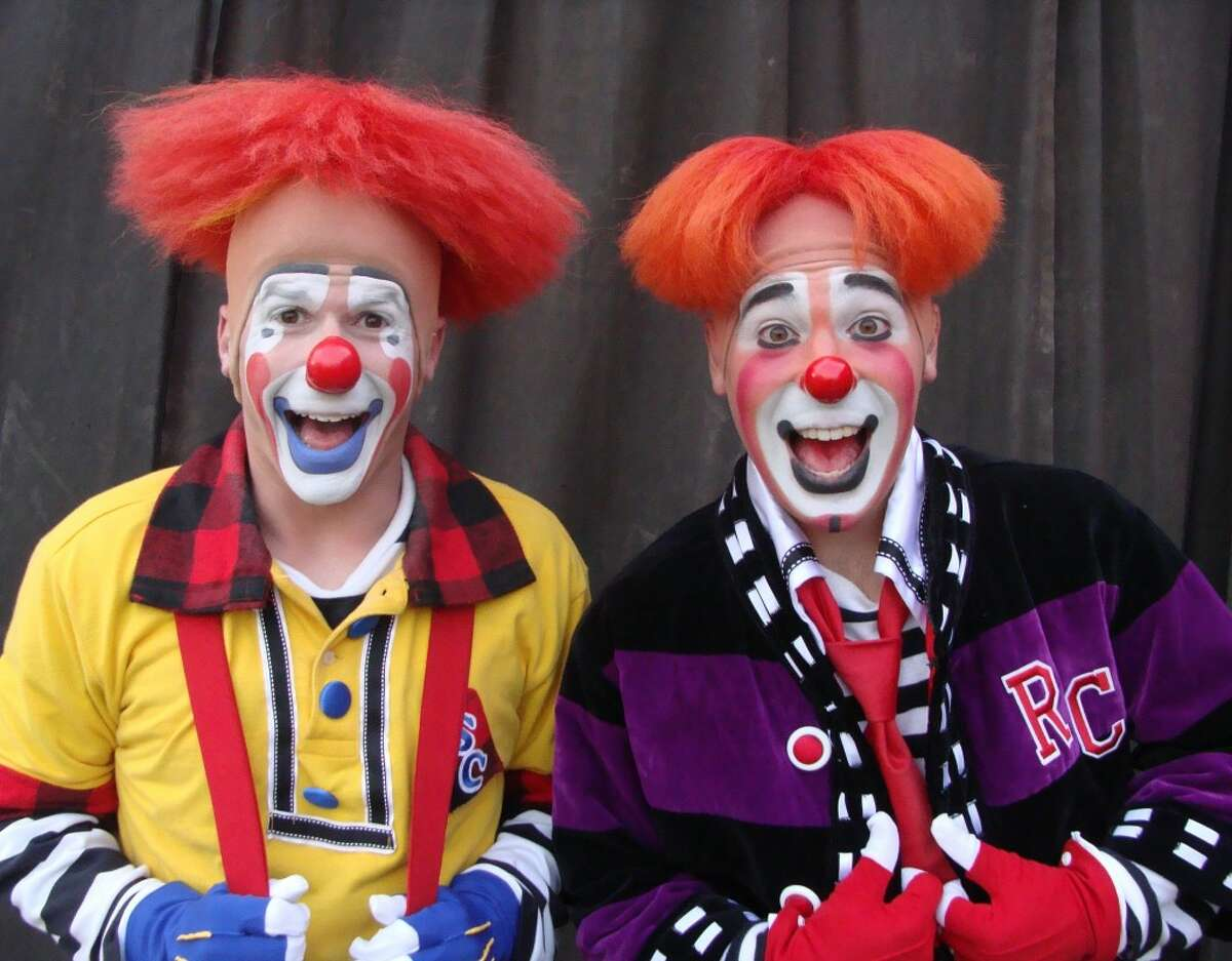 Kelly Miller Circus clowns Steve Copeland and Ryan Combs became a team while working in the