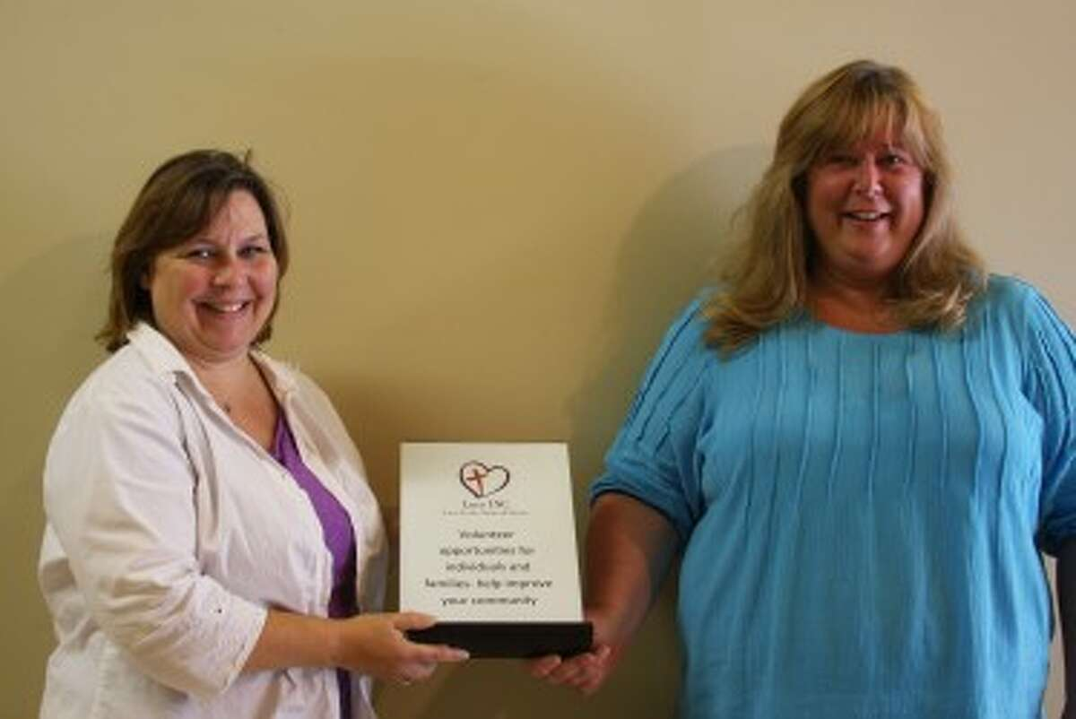 Jaci Miller and Robin Paulus of LOVE INC. work hard to aid the homeless population of Manistee County
