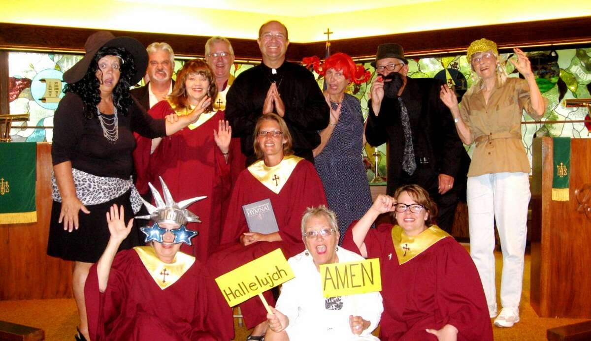 In the cast for the Bear Lake United Methodist Church dinner theater production