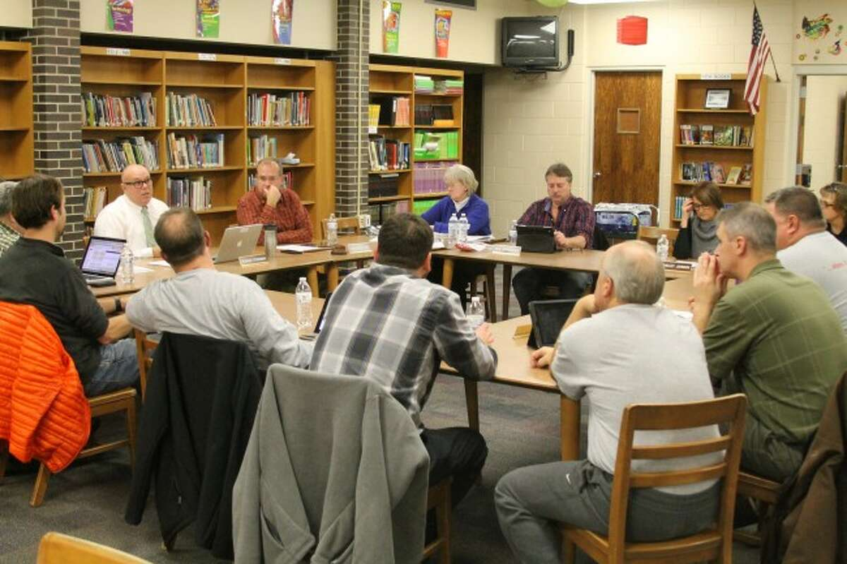 Members of the Manistee Area Public Schools Board of Education and administrators discussed safety issues at a work session on Tuesday.