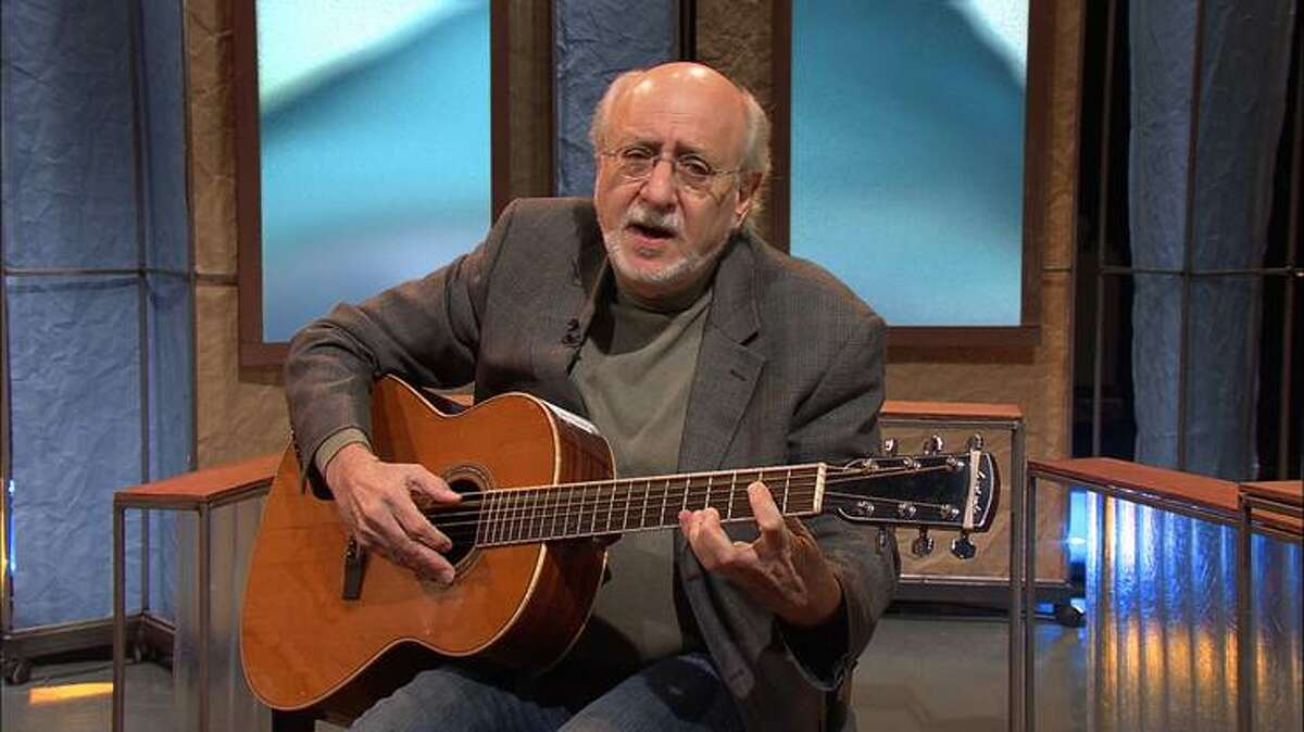 Peter Yarrow of Peter Paul and Mary fame will be appearing at 7:30 p.m. on Saturday, Sept. 29 at the Ramsdell Theatre as part of the West Shore Community College Performing Arts Series. (Courtesy photo)