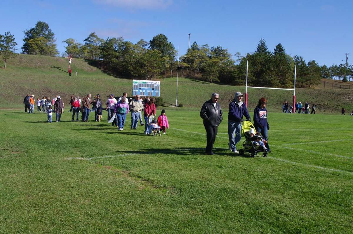 The Second Annual Walk to Remember will take place at 10 a.m. on Saturday, Oct. 6 at Manistee Catholic Central Stadium. (News Advocate file photo)