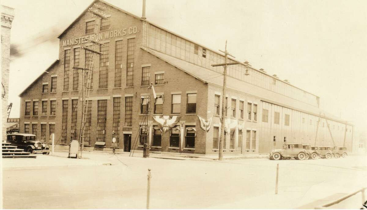 A view of the Iron Works building in Manistee in the 1930s. (Courtesy Photo/Manistee County Historical Society)