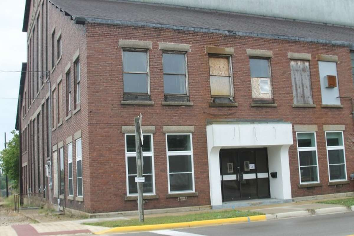 The Iron Works Cafe is located in the southwest corner of the Iron Works building on River Street in downtown Manistee.