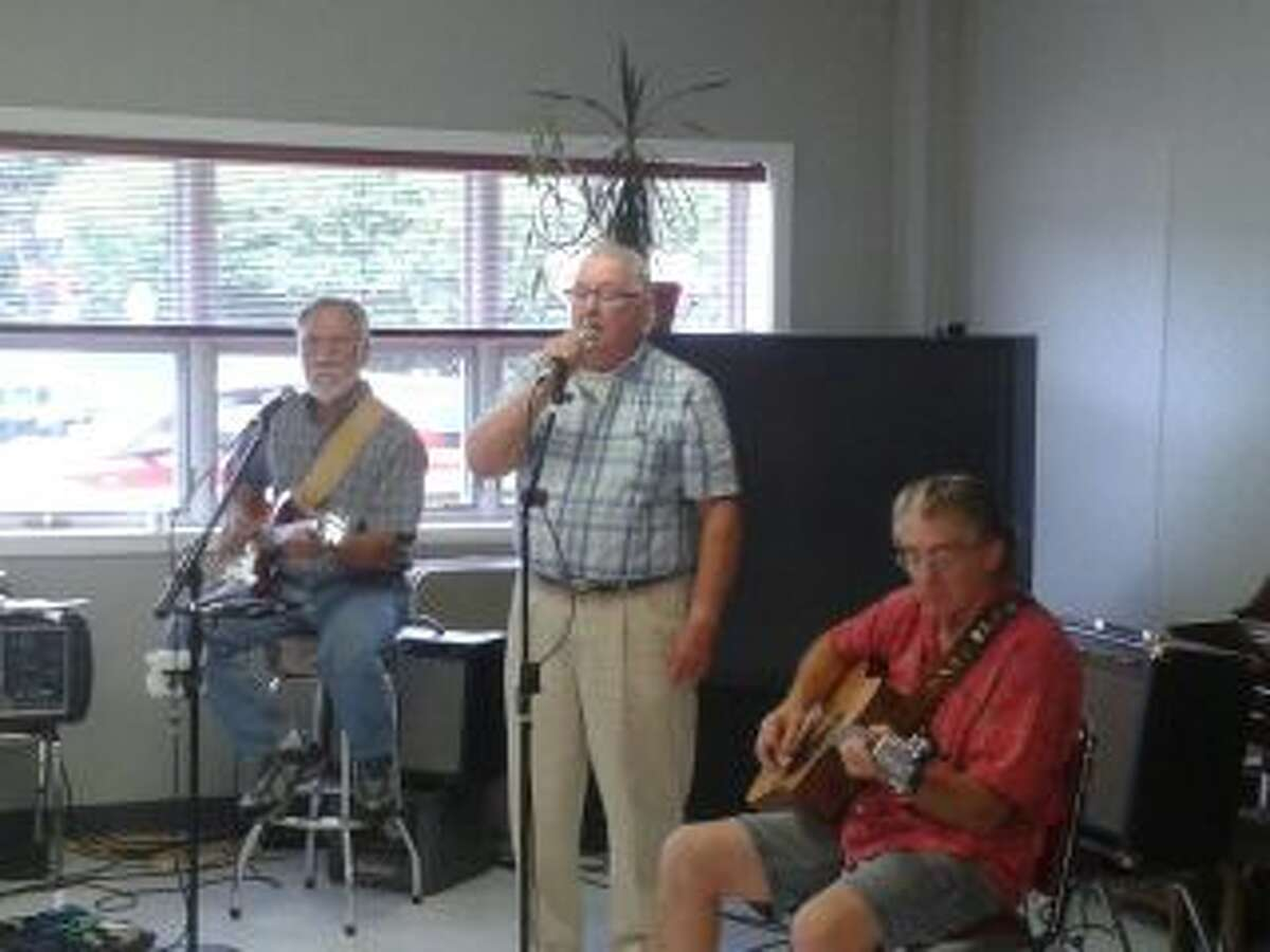 Local musicians perform on Music Monday at the Manistee Senior Center. (Courtesy photo)