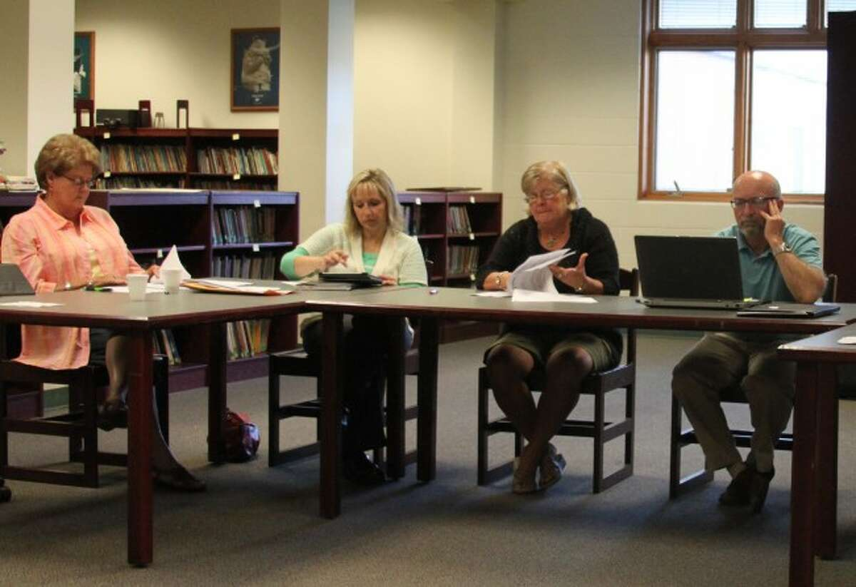 Members of the Bear Lake Board of Education received an update from the superintendent on the success of the vocational education classes.