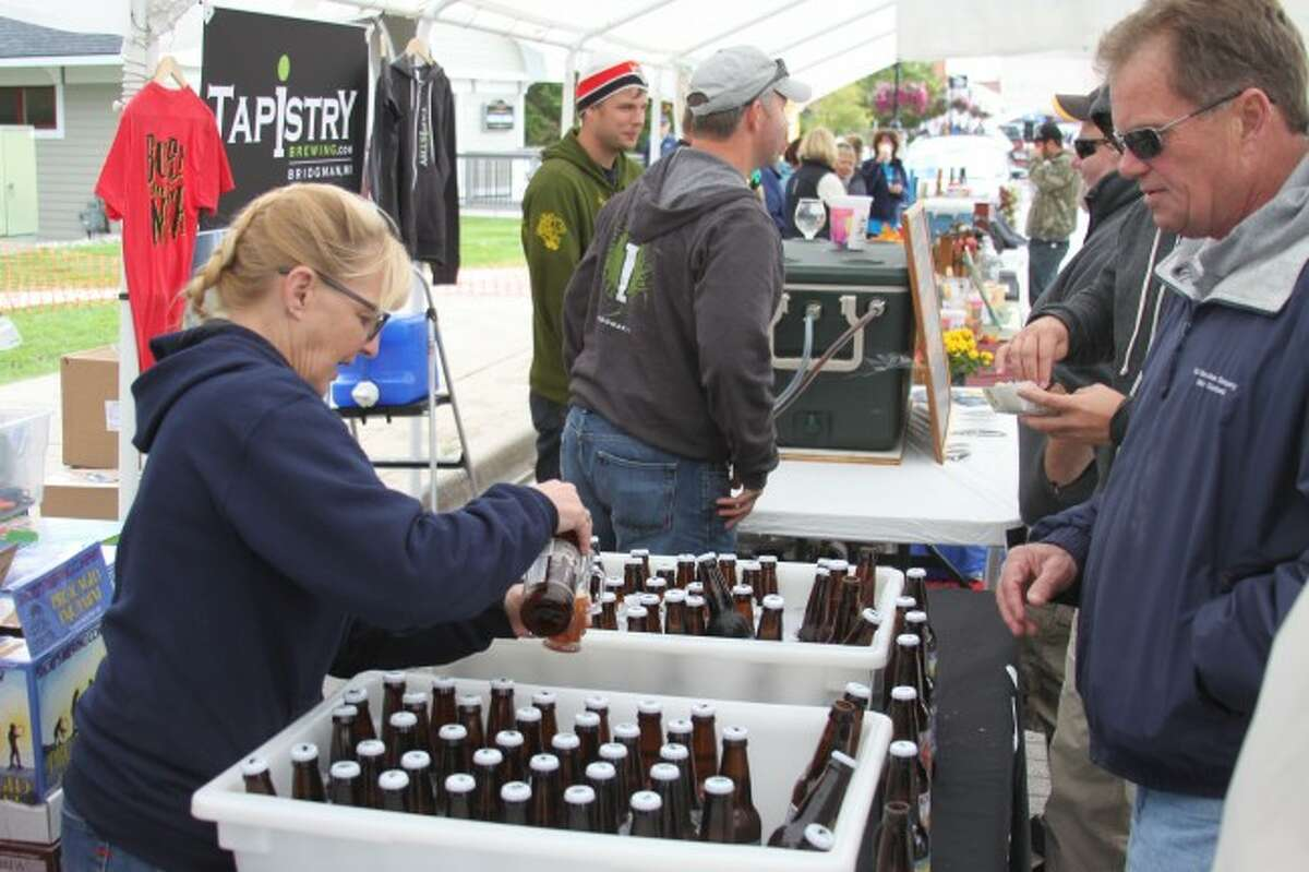The Third Annual Hops and Props By the River drew large crowds to the downtown area.