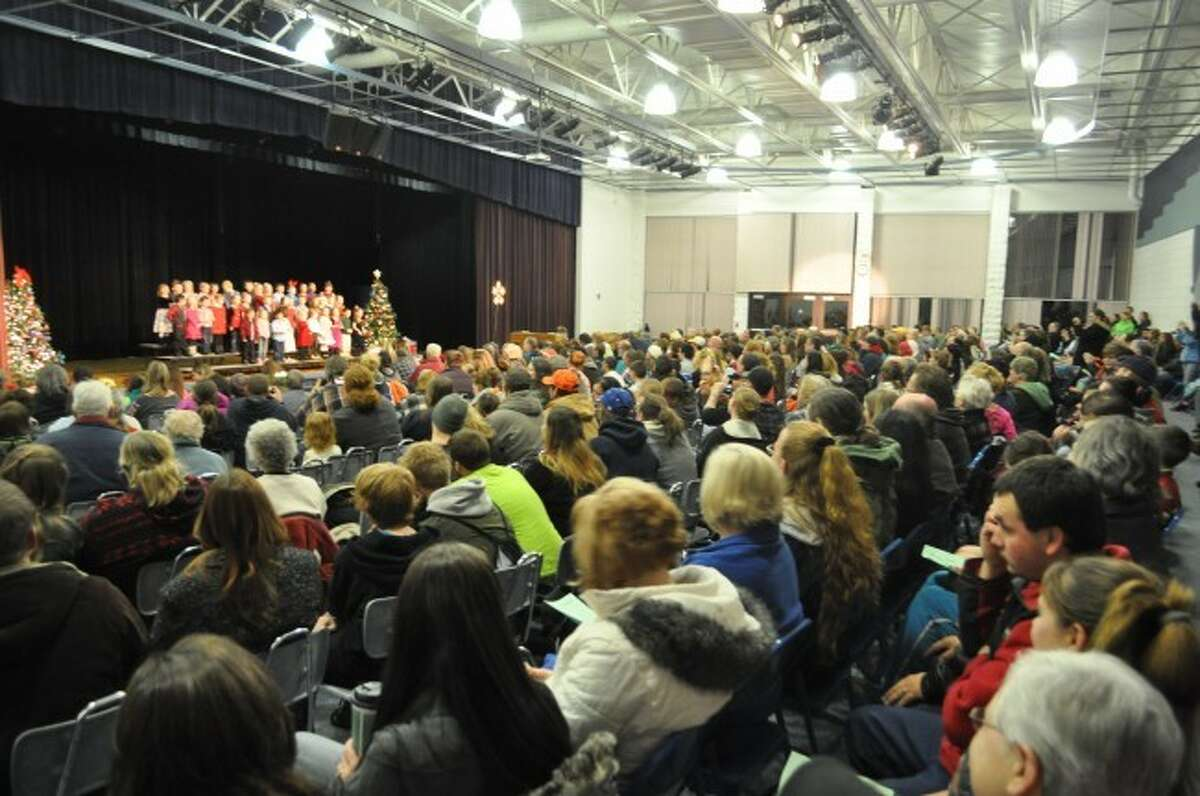 Over the course of the next several weeks holiday concerts and sings will be taking place in many Manistee County Schools.