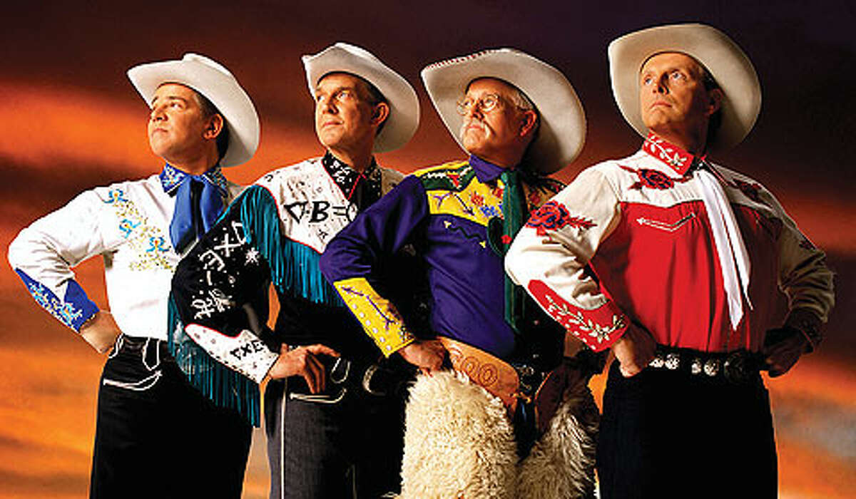 KEEPERS OF THE FLAME: The Riders in the Sky, who continue in the footsteps of theSons of the Pioneers, Gene Autry and Roy Rogers, will be performing at the Interlochen Center for the Arts.(Courtesy Photo)