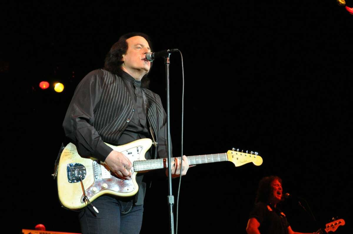 """Tommy James, a native of Niles, sings with the Shondells during a sold-out performance Saturday night at the Little River Casino Resort. James and the Shondells shot to fame with the 1965 release of """"Hanky Panky."""" (Eric Sagonowsky/News Advocate)"""