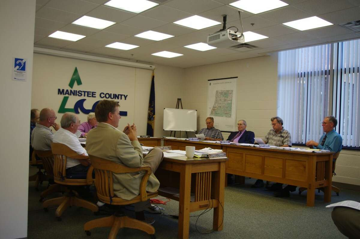 The Manistee County Board of Commissioners held a special study session on Wednesday to continue working on the county's 2012-13 budget. (Dave Yarnell/News Advocate)
