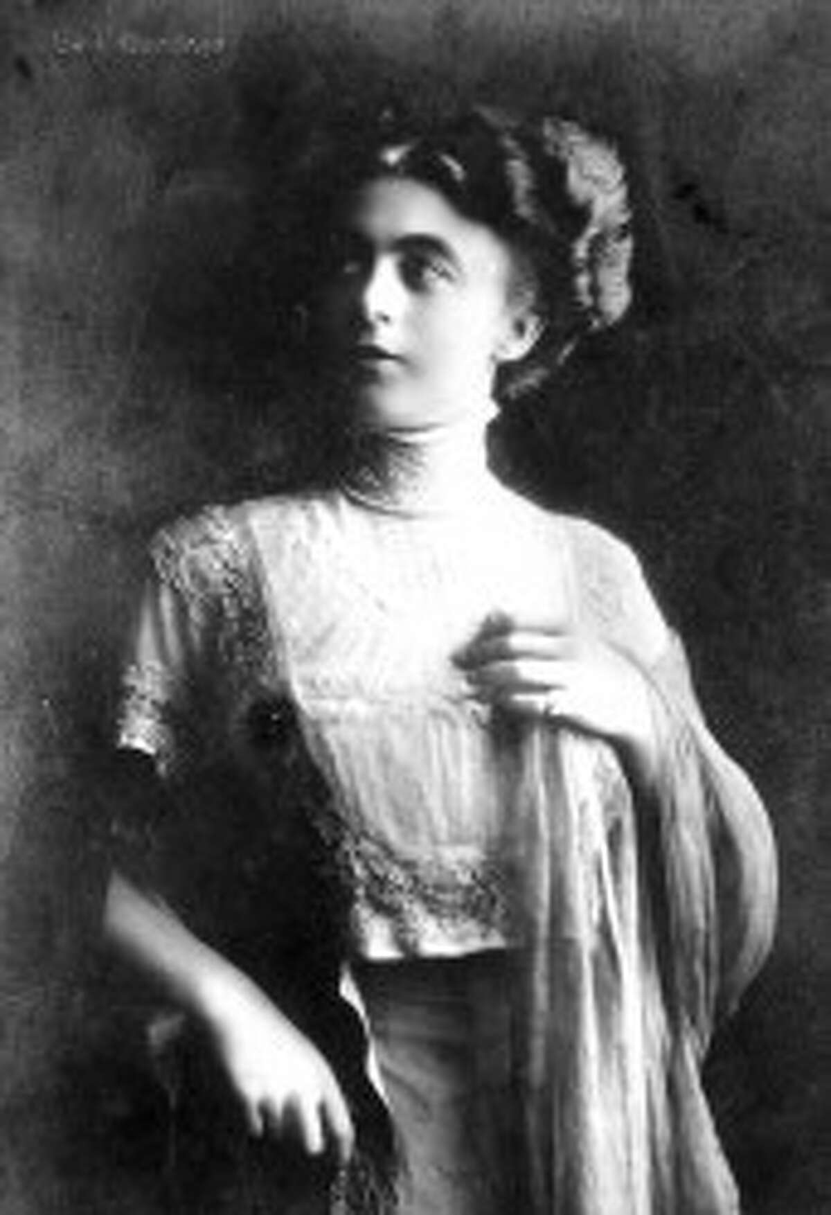 Manistee native and world reknowned Grand Opera singer, Gail Gardner, circa early 1900s. (Courtesy Photo/Manistee County Historical Museum)