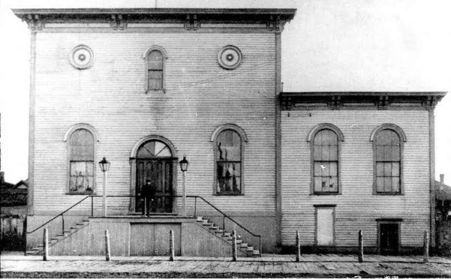 The German Hall was formerly located at 63 Clay Street. Today, Communicraft is located on the former site of the hall which once housed Manistee's oldest social organization.