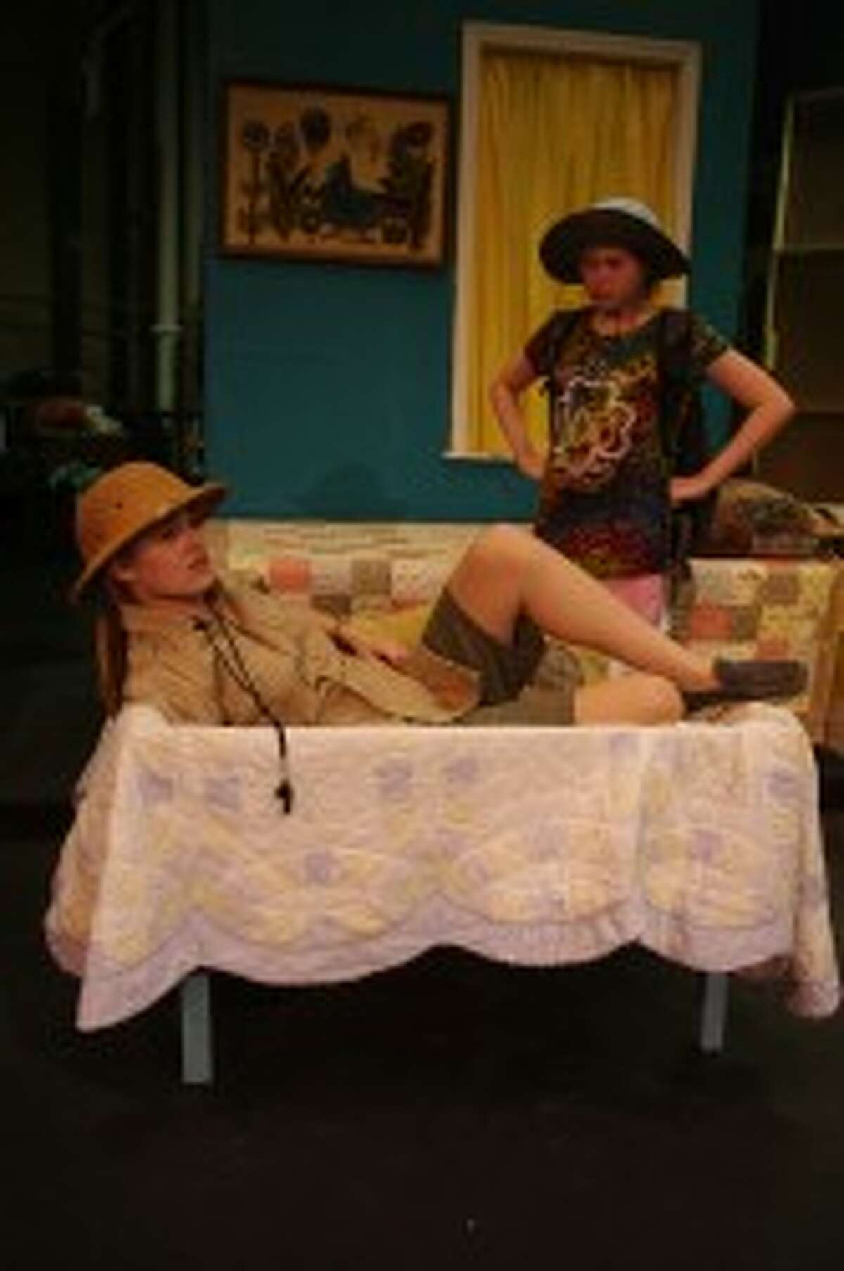 In the Ramsdell Theatre play
