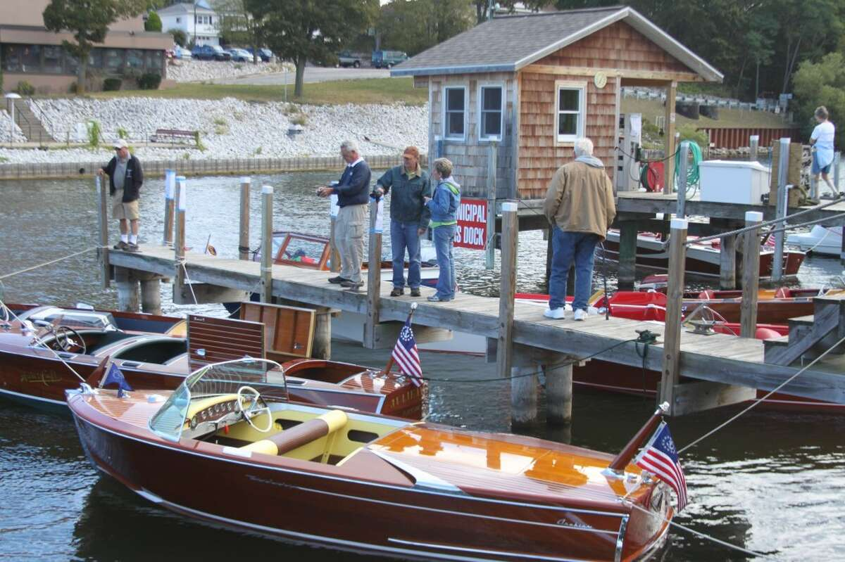 One of the highlights of Saturday's Hops & Props on the River will be the Century Boat Show in the Manistee City Marina. (News Advocate File Photo)