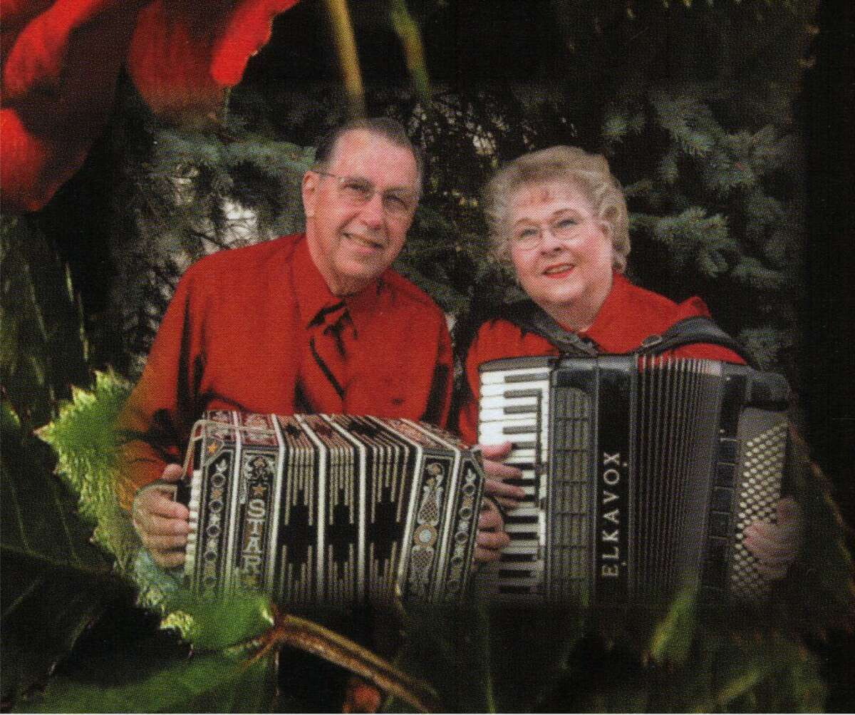 The late Ken Hawkins and his wife Eileen will be inducted into the Michigan State Polka Music Hall of Fame on Sunday Oct. 7 in Owosso. (Courtesy photo)
