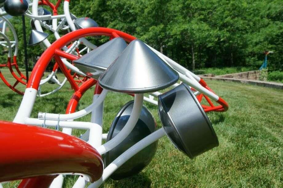 "Courtesy Photo / News AdvocateWayne State University sculptures professor Eric Troffkin created a new installation, ""Communications Vine""."