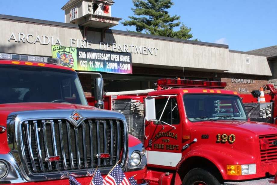Photo by Sean Bradley / News AdvocateThe Arcadia Township Fire Department in Arcadia, Mich. Saturday celebrated its 50-year anniversary with an open house including food and drink, demonstrations and information for community members.