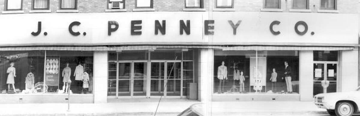 The J.C. Penny store at the corner of Maple and River Streets in the current location of Gliks was one of the main anchor stores on the Manistee's River Street.