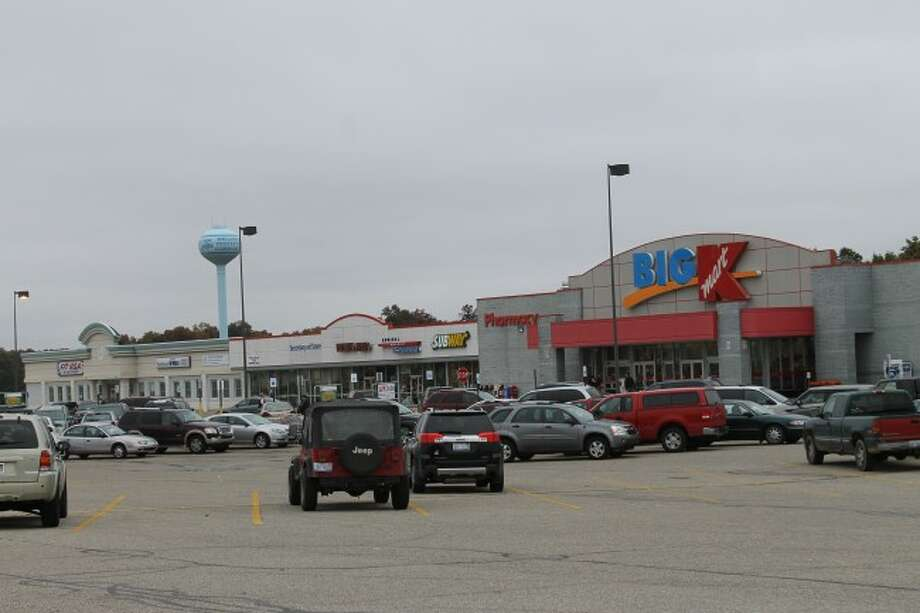 The Filer Township downtown area includes the K-Mart complex that houses Fit USA, Subway and Michigan Works! among other stores. (Justine McGuire/News Advocate)