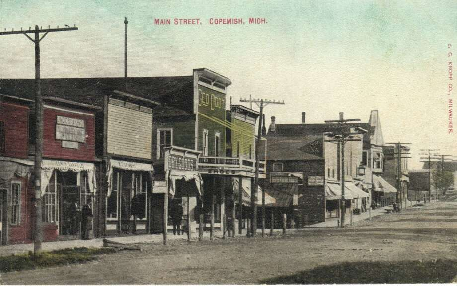 An early 1900s view of Copemish. (Courtesy Photo/Manistee County Historical Museum)