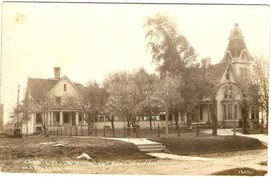 The Carrie Filer home that later became a museum is shown in this photograph from the 1890s.