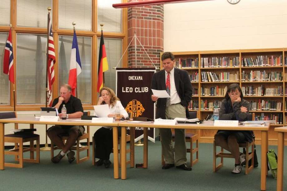 The Onekama Consolidated Schools Board of Education is bringing two bond proposals before the district in the November election.