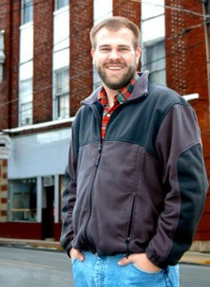 Patrick Kay moved to Manistee in November to lead the Manistee Main Street/Downtown Development Authority.