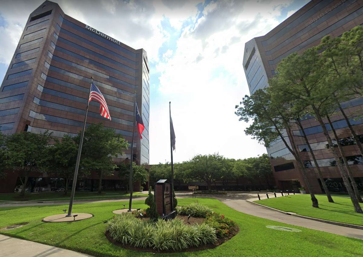 McDermott International's headquarters are locatred at 757 N Eldridge Pkwy in Houston.