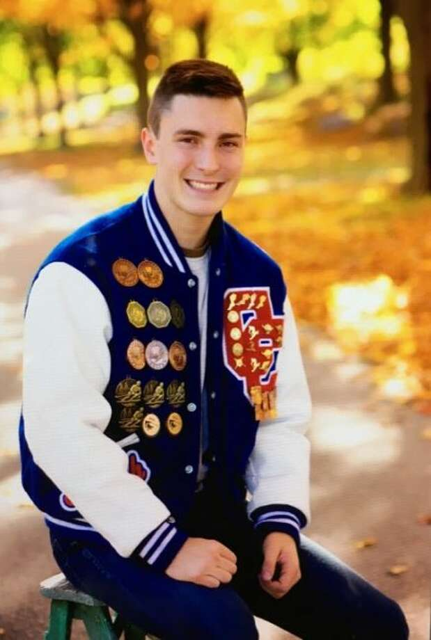 Manistee Catholic Central senior Joseph Buswinka has been nominated by Sen. Debbie Stabenow for the United States Air Force Academy in Colorado Springs, Colo.