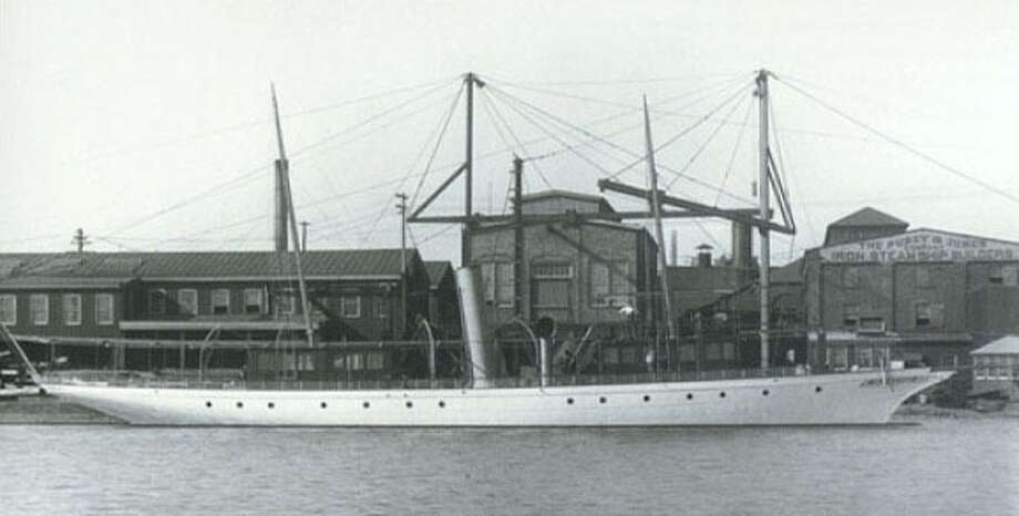 The Cangarda was a luxury steam yacht that was constructed for millionaire Charles Canfield in 1901. The maiden voyage of the vessel included passengers Canfield, his wife Belle, and Robert and Kate Babcock. Several years later Charles and Kate were married.