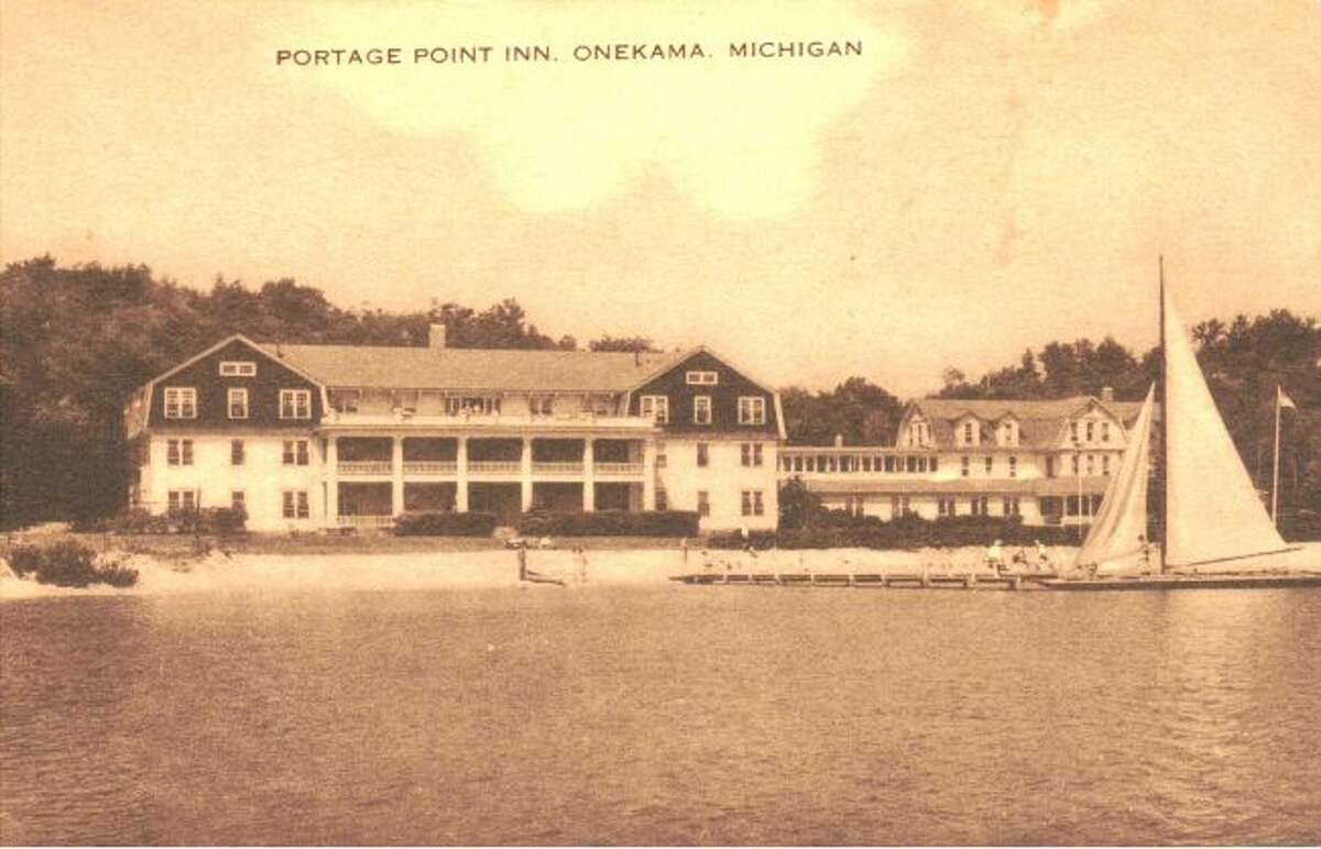 The historic Portage Point Inn located in Onekama is shown in this photograph from the early 1900s.