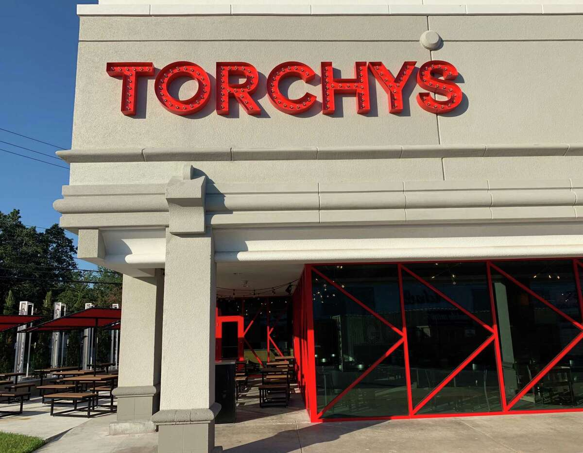 Details from the new Torchy's Tacos location in Houston, opening Aug. 14 at 5537 Wesleyan in the West U neighborhood.