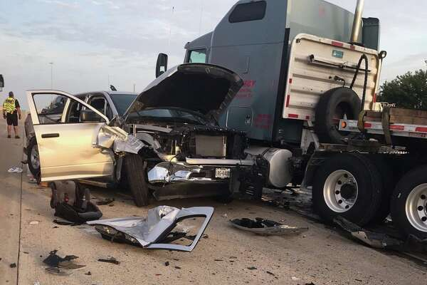 Children, 3 and 8, remain critical after crash with 18-wheeler on