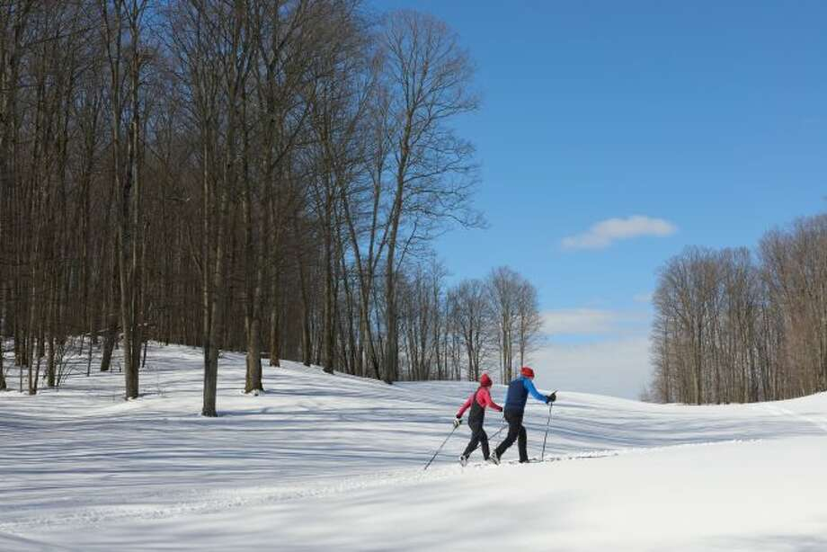 Cross country and downhill skiing is a popular winter activity in Northern Michigan. Crystal Mountain is one of many places people can visit. (Courtesy Photo/Crystal Mountain)